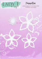 """Щанци за изрязване """"Poinsettia"""", Lady E Design"""