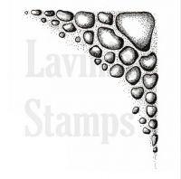 """Прозрачен печат """"Stone texture"""", Lavinia Stamps"""