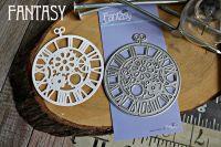 """Дизайнерска щанца за изрязване """"Часы с шестеренками"""", Fantasy Dies"""