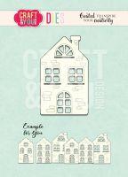Щанца за изрязване на къща, Craft&YouDesign