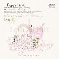 """Дизайнерски комплект хартии """"Elegance"""", 30см, Lemoncraft"""