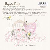 """Дизайнерско блокче хартии """"Elegance"""", 15см, Lemoncraft"""