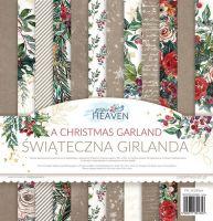 "Дизайнерски блок хартии ""A Christmas Garland"", 30.5см, PH"