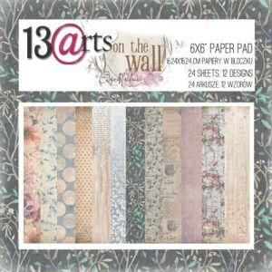 "Дизайнерски комплект хартии ""On the wall"", 15см, 13@rts"