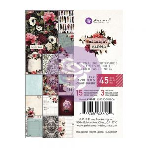 "Дизайнерски АТС карти ""Midnight Garden"", 7.5см х 10см, Prima Marketing"