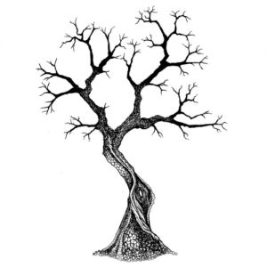 "Прозрачен печат ""Sacred Tree"", Lavinia Stamps"