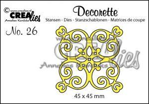 Декоративна решетка 26
