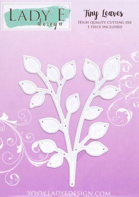 """Щанца за изрязване """"Tiny Leaves"""", Lady E Design"""