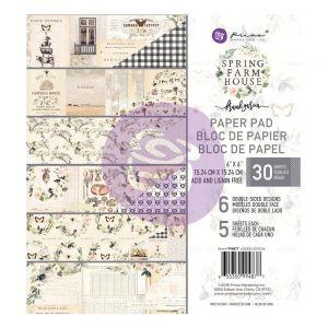 """Дизайнерско блокче хартии """"Spring Farmhouse"""", 15см, Prima Marketing"""