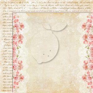 """Дизайнерски лист хартия """"Sense and sensibility""""-2 - 30.5см, Lemoncraft"""