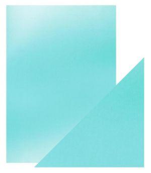 "Огледален картон ""Silky Sky"", 5л., A4, 250гр."