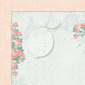 """Дизайнерски лист хартия """"Love of my life""""-7 - 30.5см, Lemoncraft"""