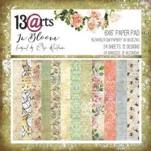 "Дизайнерски комплект хартии ""In Bloom"", 15см, 13@rts"