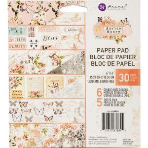 "Дизайнерско блокче хартии ""Apricot Honey"", 15см, Prima Marketing"