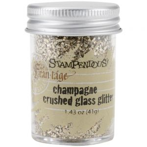 Стъклен брокат - шампанско, Stampendous