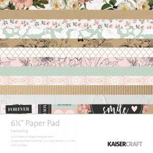 """Дизайнерско блокче хартии """"Вечната любов"""", 40л., 16.5см, Kaisercraft"""