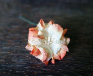 Гардения, 40 мм, оранжева.
