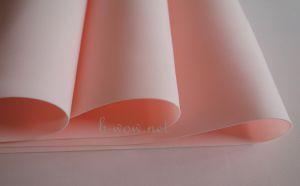 Китайски зефирен фоумиран, прасковен, 1мм, 50смх50см