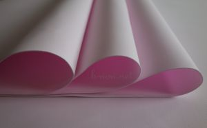 Ирански фоумиран, светлорозов цвят, 0.8мм, 30см х 35см
