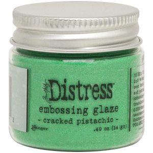 """Дистрес ембосинг пудра """"Cracked Pistachio"""", Tim Holtz"""