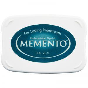 "Тампон с мастило Memento ""Teal Zeal"""