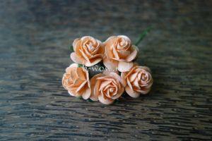 Рози, наситена праскова, 20мм