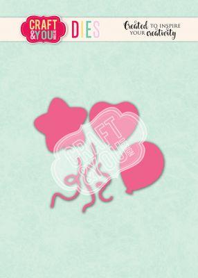 Комплект щанци за изрязване на балони, Craft&YouDesign