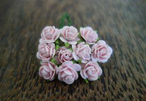 Рози, светлорозови, 10мм