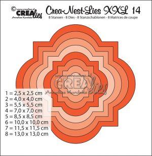 Комплект щанци за изрязване с декоративна форма, за скрапбукинг - №14