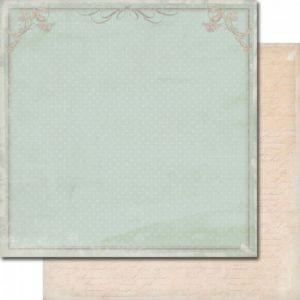 "Лист дизайнерска скрапбукинг хартия (250 гр/м2) - ""Soulmates - Power of love"""