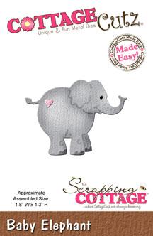 """Дизайнерска щанца за изрязване """"Слон"""""""