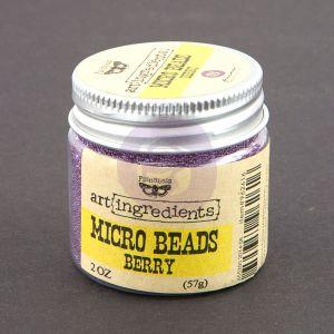 Prima Art Ingredients - Micro Beads - Berry