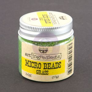 Prima Art Ingredients - Micro Beads - Grass