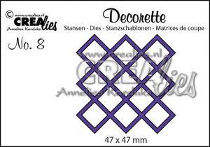 Декоративна решетка 8