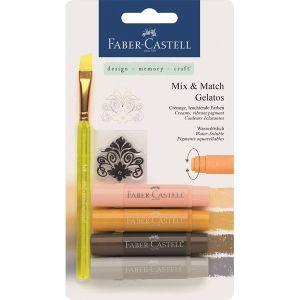 Акварелни пастели Faber Castell натурални цветове