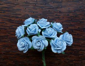 Рози, сини, 15мм