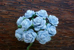 Рози, сини, 10мм