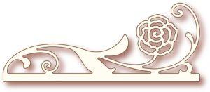 Шаблон за изрязване - Дива роза