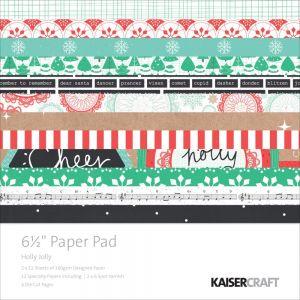 """Дизайнерски блок хартии """"Светла и весела"""" - 16.5см х 16.5см"""
