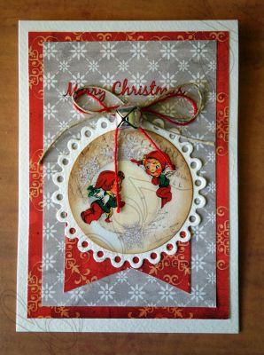 """Весела картичка """"Merry Christmas! """""""