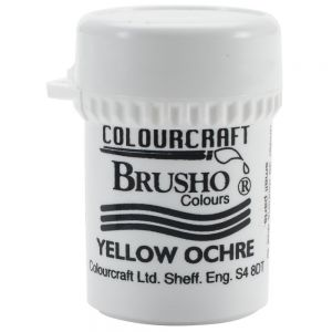 Сух пигмент Brusho Crystal - Yellow Ochre