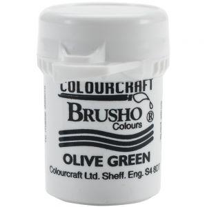 Сух пигмент Brusho Crystal - Olive Green