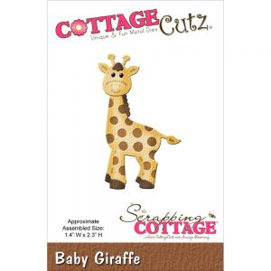 """Щанца за изрязване """"Бебе-жираф"""""""