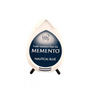 "Memento Dew Drop  ""Nautical blue"""