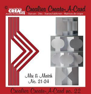 Щанца за изрязване на картичка с различна форма - вариант 22