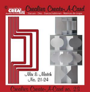 Щанца за изрязване на картичка с различна форма - вариант 23