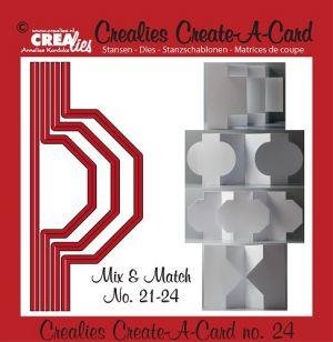 Щанца за изрязване на картичка с различна форма - вариант 24