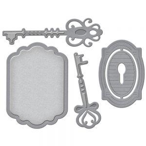 """Щанци за изрязване """"Ключове и ключалки"""""""
