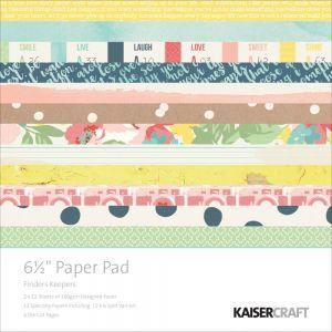"Дизайнерско блокче хартии  ""Колекционери на истински моменти"" - 15см х 15см"