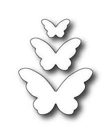 """Щанца за изрязване """"Трио пеперуди Емелия"""""""
